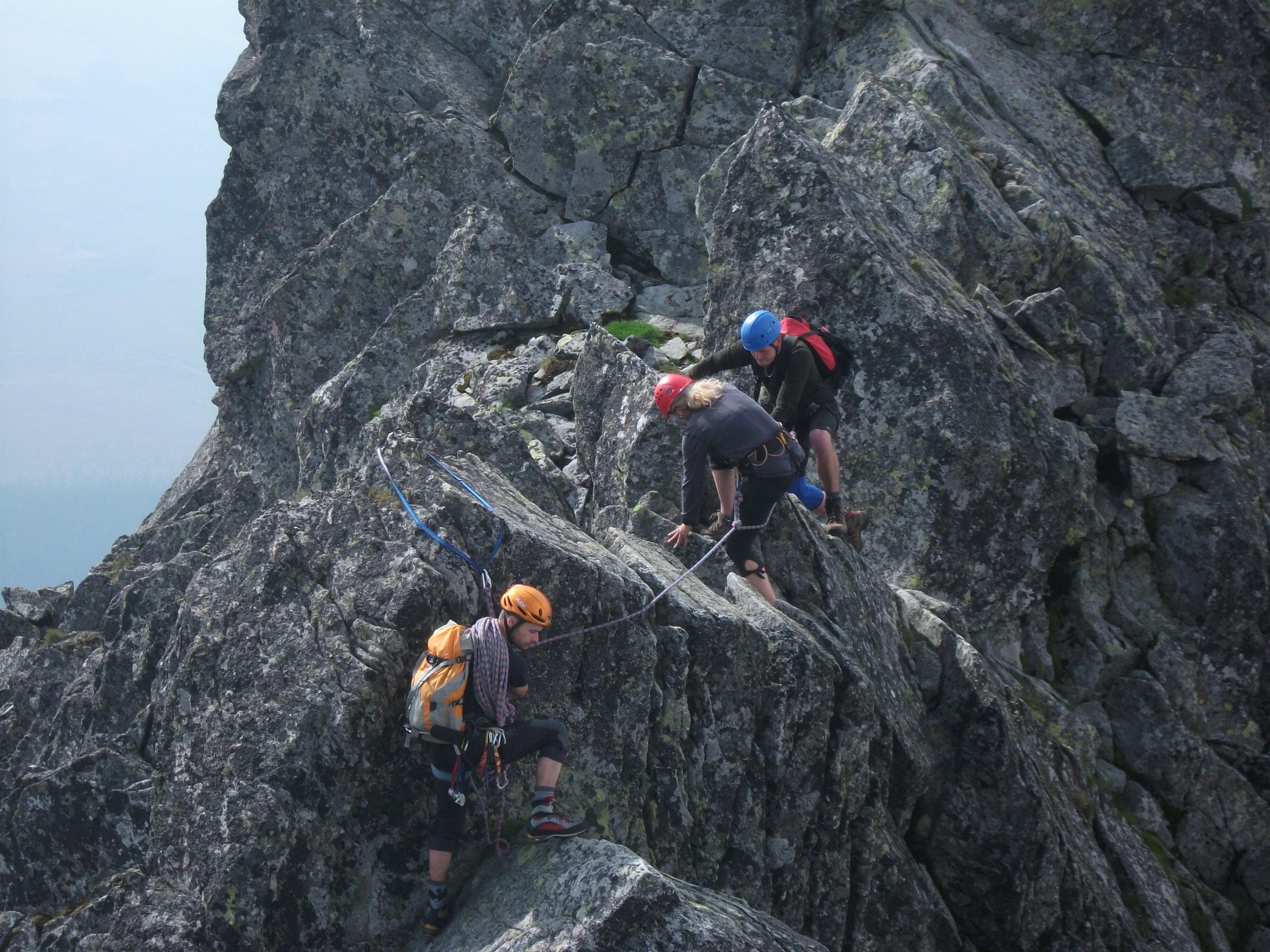 na hrebeni, foto: P.Tomko