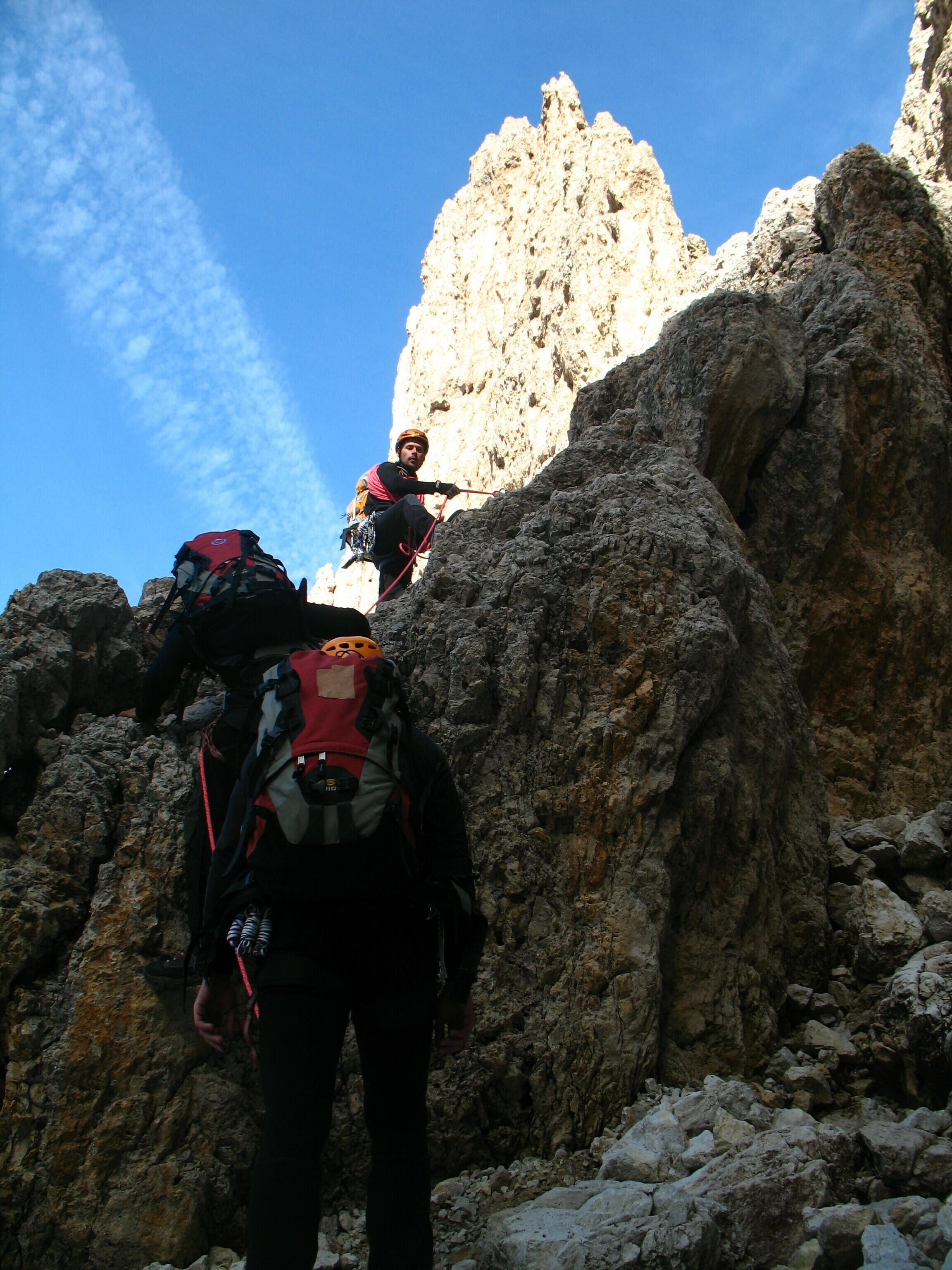 výstup na Sasso Lungo, foto: J.Michalko