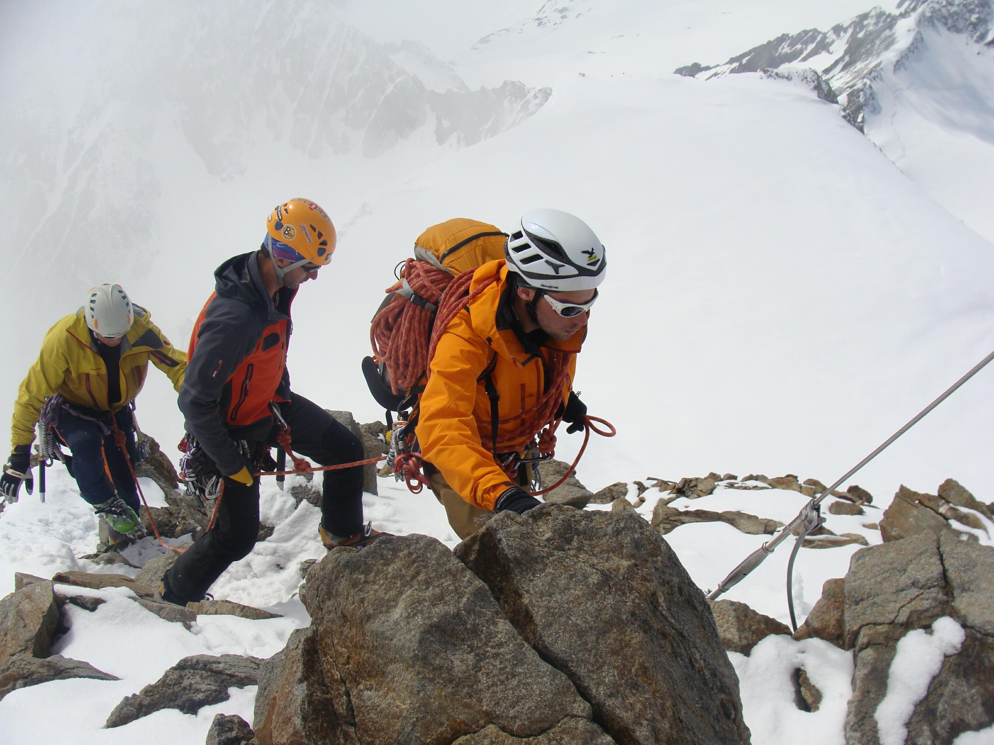 výstup na Wildspitze