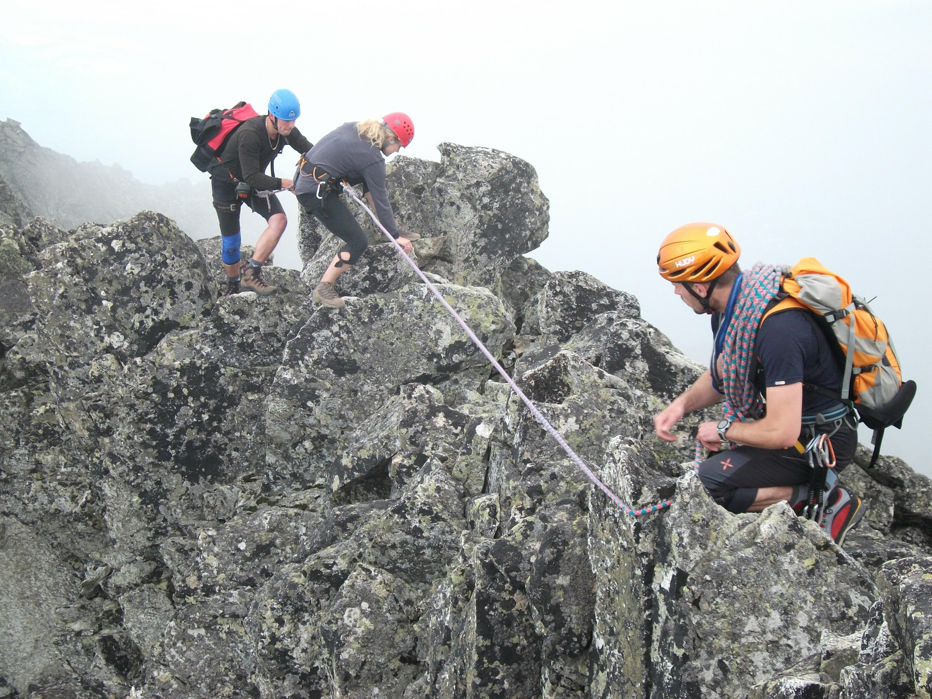 na hrebeni, foto: P. Tomko