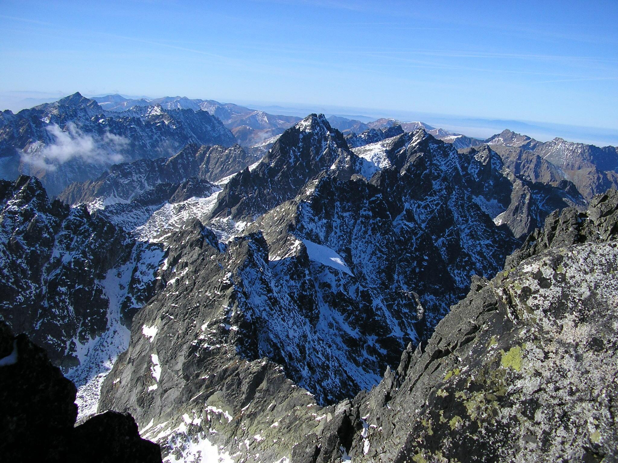 pohľad z vrchola