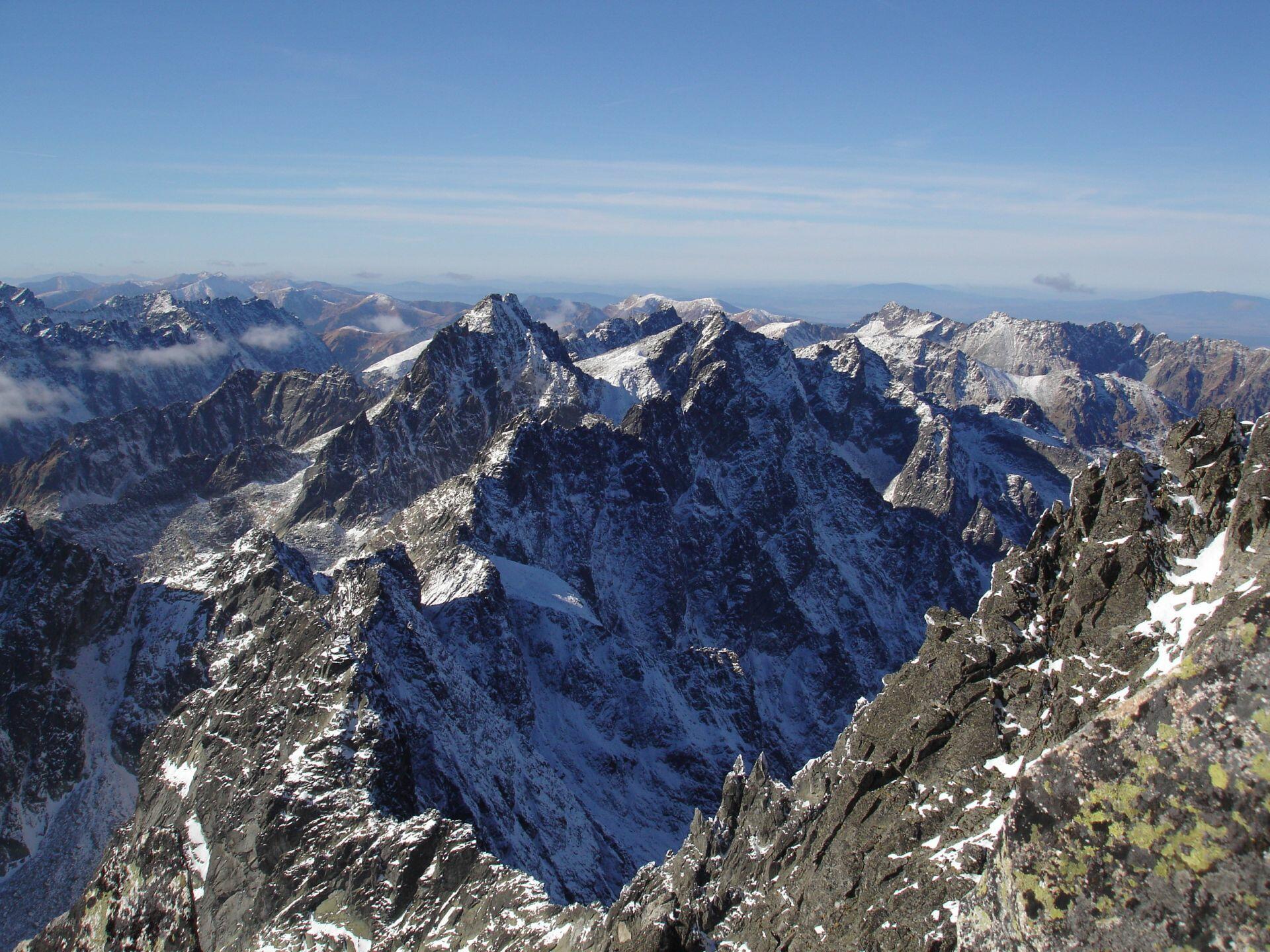 pohľad z vrcholu