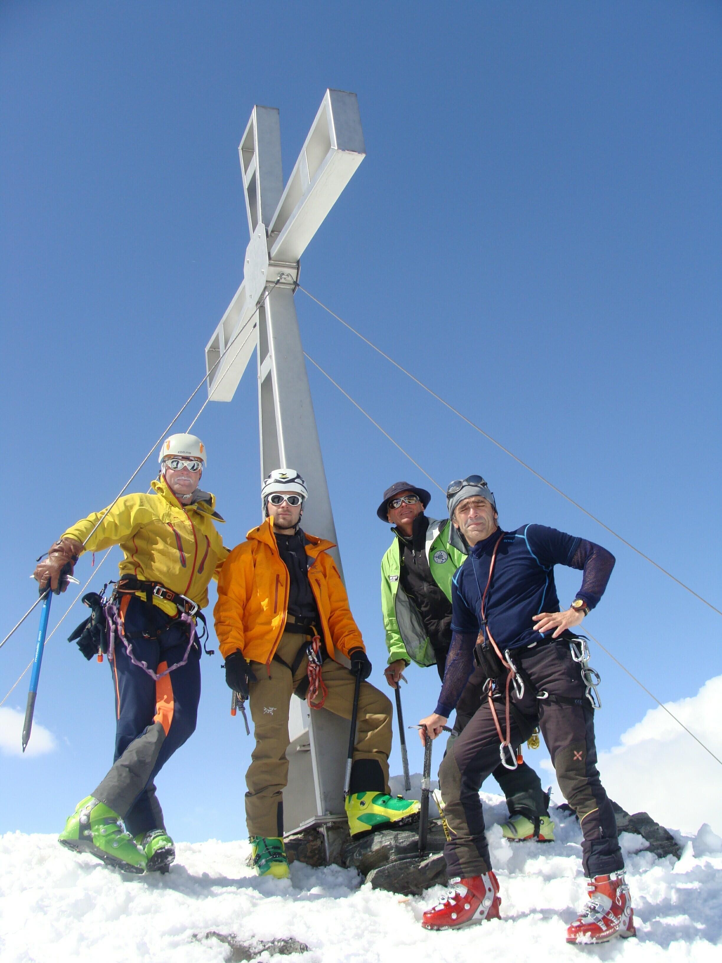 vrchol Linker Fernerkogel