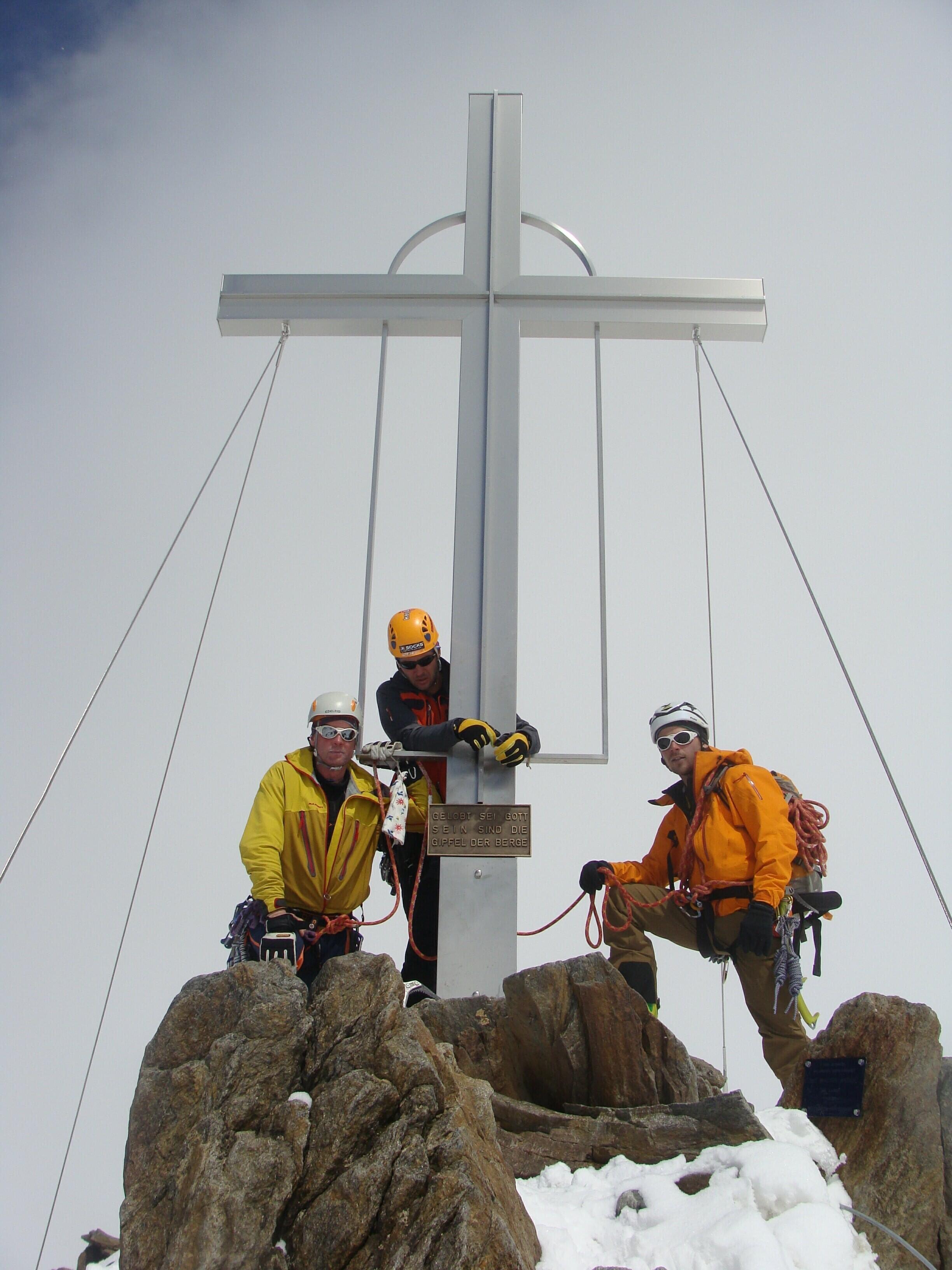 vrchol Wildspitze